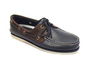 Timberland Shoes - Classic Boat A16MJ Navy/Brown