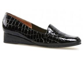 Van Dal Shoes - Verona III Black Croc