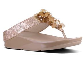 FitFlop™ Sandals - Boogaloo™ Rose Gold