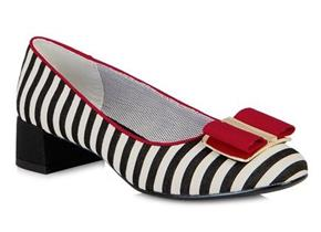 Ruby Shoo - June Black/Red