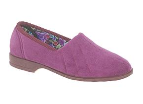 Sleepers Slippers - Audrey LS392 Plum