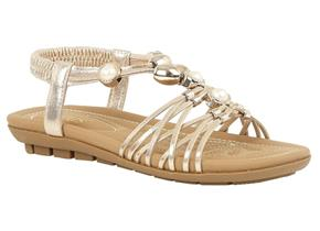 Lotus Sandals - Marci Gold