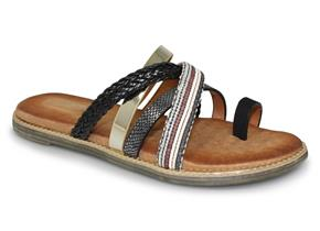 Lunar Sandals - Ambre JLH904 Black