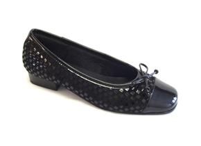 Riva Shoes - Andros Black Patent