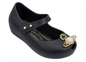 Vivienne Westwood + Melissa Shoes - Kids Mini Ultra Girl 18 Black