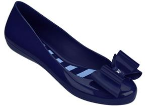 Zaxy Shoes - Pop Bow Navy