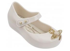 Vivienne Westwood + Melissa Shoes - Kids Mini Ultra Girl 18 Ivory