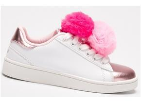 Lelli Kelly Shoes - LK5826 Pon Pon White Pink