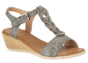 Lotus Sandals - Orta ULP005 Pewter