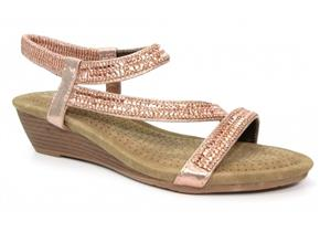 Lunar Sandals - Blair JLH137 Rose