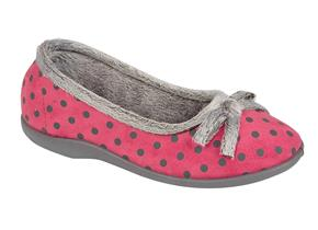 Sleepers Slippers - Louise LS325 Pink