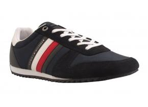 Tommy Hilfiger Sneakers - Essential Nylon Runner Navy