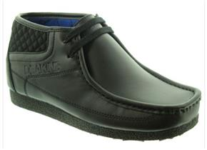 Nicholas Deakins Shoes - Beckley Jnr Black