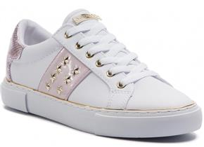 Guess Trainers - FL6GM5-ELE12 White Pink
