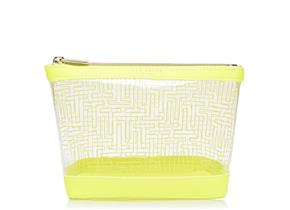 Ted Baker Washbag - Anke Neon Yellow