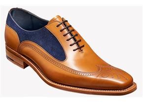 Barker Shoes - Harding Tan/Navy