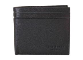 Ted Baker Wallet - Mack Striped Bifold Black