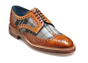 Barker Shoes - Blair Cedar Check