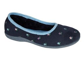 Sleepers Slippers - Angel LS333 Navy