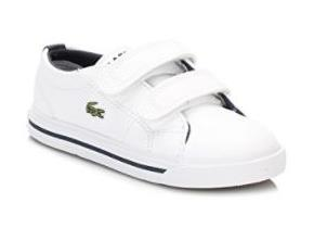 Lacoste Trainers - Marcel Infant 117 White/Navy