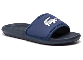 Lacoste Sandals - Croco Slide 119 Navy