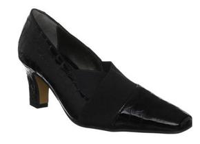 Van Dal Shoes - Davenport Black Croc