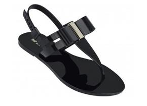 Zaxy Sandals - Glaze Sandal Bow Black