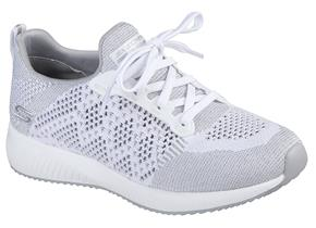 Skechers Shoes - Bobs Sport Squad Hot Spark 31368 White