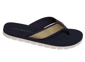 Tommy Hilfiger Sandals - Mimi 3D Navy Gold