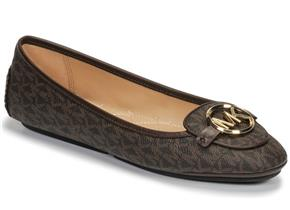 Michael Kors Shoes - Lillie Moc Brown Logo