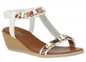 Lotus Sandals - Neve ULP115 White