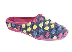Sleepers Slippers - Amy LS312 Fuchsia