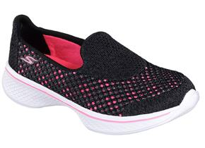Skechers Shoes - 81118 Go Walk 4 Black Multi
