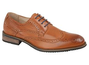 Pettits Shoes - Route 21 M803 Brown