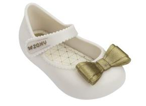 Zaxy Shoes - Baby Enchanted Bow Ivory
