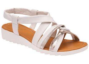 Lotus Sandals - Cordoba ULP154 White Silver