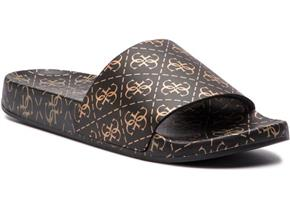 Guess Sandals - FL6SAV-RUB19 Black Gold
