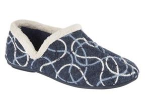 Sleepers Slippers - LS362 Navy