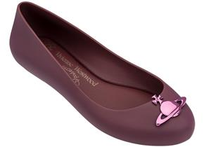 Vivienne Westwood + Melissa Shoes - Space Love 19 Plum