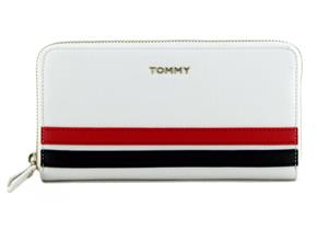 Tommy Hilfiger Purse - Honey Staple Large ZA Wallet White