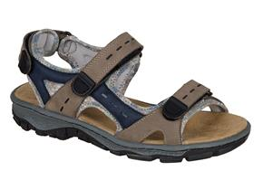 Rieker Sandals - 68872 Taupe
