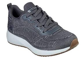 Skechers Shoes - Bobs Squad 31347 Grey Silver
