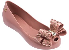 Melissa Shoes - Ultragirl Luxe Bow Blush