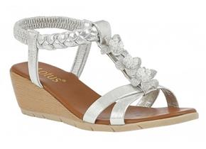 Lotus Sandals - Aiana ULP113 Silver