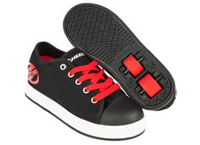 Heelys Shoes - Fresh Black Red