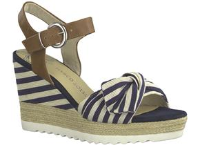 Marco Tozzi Sandals - 28706-22 Navy Multi