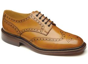 Loake Shoes - Chester Tan