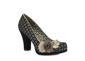 Ruby Shoo - Eva Black Beige