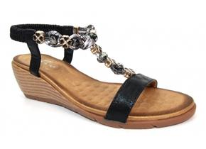 Lunar Sandals - Alna JLH202 Black