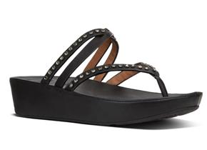 FITFLOP™ SANDALS - Linny™ Criss Cross Black